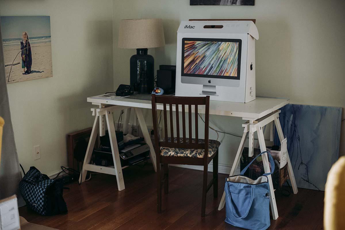 New computer | Jen McLeod Photography