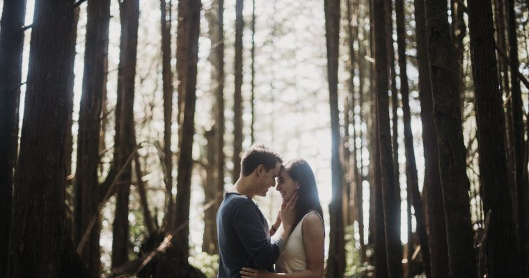 Did she say yes? I think she said yes! | Ucluelet Proposal Photography
