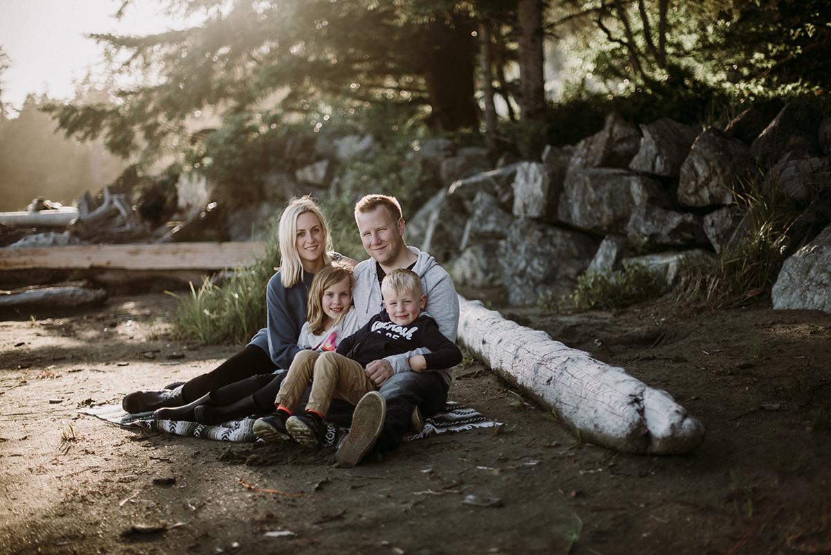 Wilxcox Family Photos | Tofino Photographer