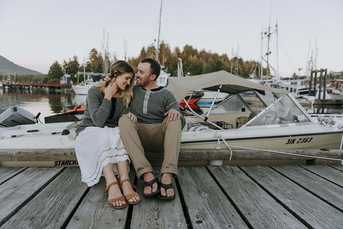 Summer Lovin' | Ucluelet Engagement Photographer